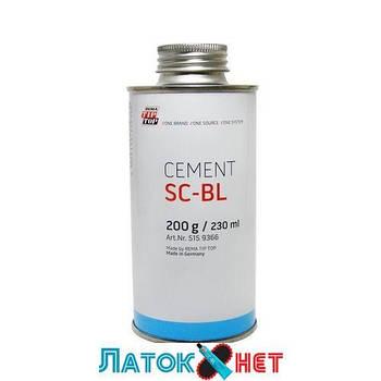 Специальный цемент BL 200 г клей для ремонта камер и шин 230 мл Tip top Германия