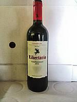 Вино красное Libertario La Mancha 2014