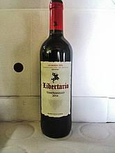 Вино красное Libertario La Mancha 2016