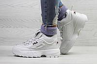 Женские зимние кроссовки Fila, белые