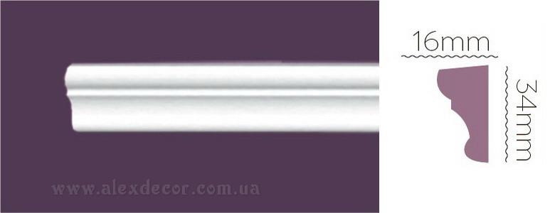 Молдинг Home Decor 1315 (34x16)мм