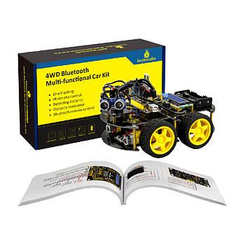 Arduino набор - многофункциональный робот автомобиль 4WD Bluetooth DIY KIT