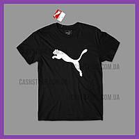 Футболка Puma 'Active Big Logo' с биркой | Пума | Черная