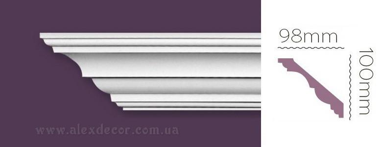 Карниз Home Decor 1225 (100x98)мм