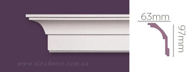 Карниз Home Decor 1224 (97x63)мм