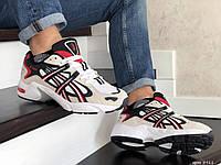 Мужские кроссовки Asics, сетка, замша, пена, разноцветные