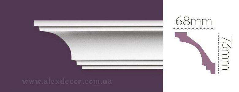Карниз Home Decor 1219 (73x68)мм