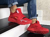 Мужские кроссовки Baas, сетка, пена, красные
