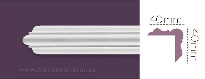 Плинтус угловой Home Decor 1211 (40x40)мм