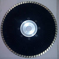 Алмазный диск для резки гранита  на фланце Stonecraft Turbo 230x2,6x7x22,23F