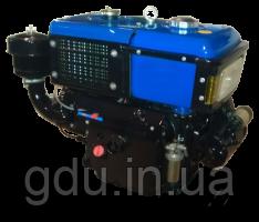 Двигатель 24 л.с водяное охлаждение ZH1115 - ZUBR
