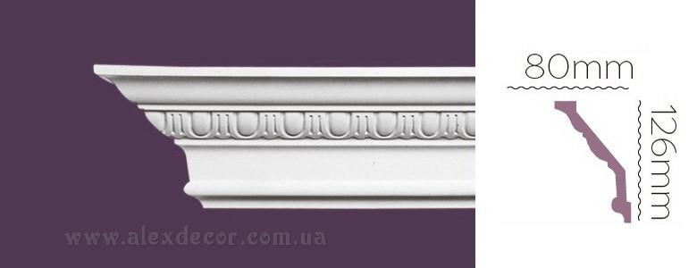 Карниз Home Decor 1118 (126x80)мм