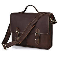 Мужской кожаный портфель высокого класса
