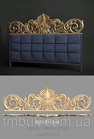 Изголовье кровати корона, фото 2