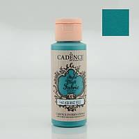 Фарба матова для тканини Style Matt Fabric Paint, 59 мл, Бірюза, Cadence, 505F-622