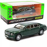 Машинка игровая автопром «Bentley Mulsanne» (Бентли) 20х7х6 см, Хаки (7694), фото 1