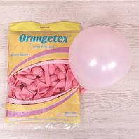 """Воздушные шары пастель макарун розовый 5"""" (Китай), 100 штук"""