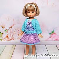 Платье с кофточкой для кукол мини Подружки 21 см Паола Рейна, фото 1