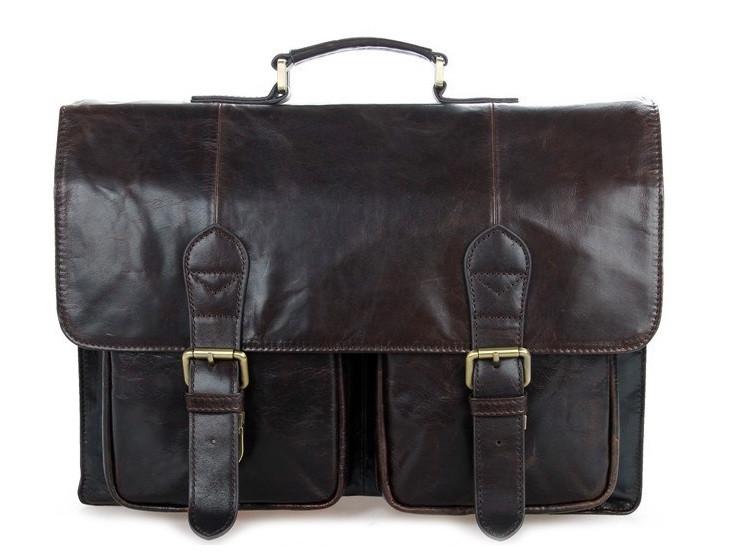 6390bf4e1811 Кожаный мужской портфель 7105-2Q. Купить Кожаный мужской портфель ...