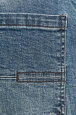 Джинсы мужские голубые slim, фото 3