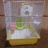 Клетка для грызунов з домиком и балконом., фото 1