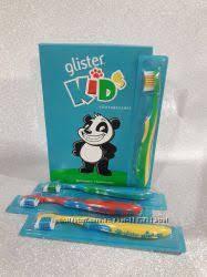 Glister kids детская зубная щетка