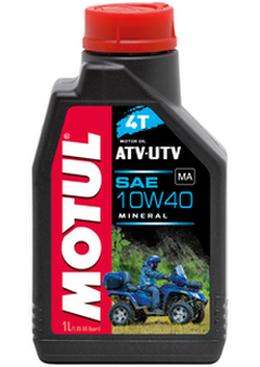 Моторное масло для квадроцикла минералка MOTUL ATV-UTV 4T 10W40 (1L)