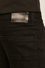 Джинсы мужские черные slim, фото 3