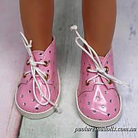 Ботиночки розовые лаковые для кукол Паола Рейна