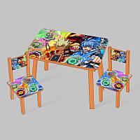 Столик Мини Инфинити 60х46 см и 2 стула - 181707