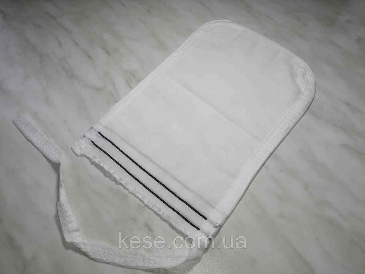 Массажная перчатка кесе для тела  (мягкой текстуры).