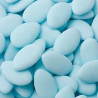 Конфеты для бонбоньерок с миндалем бирюзовые (арт. ZT-025)