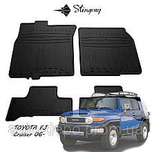 Toyota FJ Cruiser 2006-2014 Коврики резиновые автомобильные  Stingray
