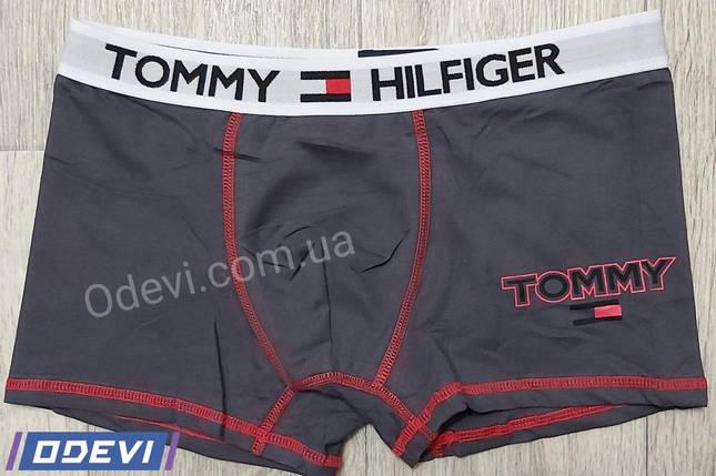 Трусы мужские шортиками Tommy копия хлопок, фото 2