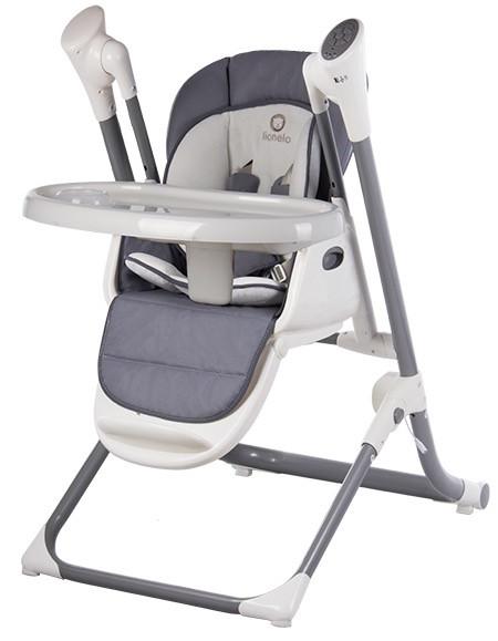 Детский стульчик-качеля для кормления с регулировкой высоты Lionelo Niles