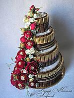 """Торт из конфет """"Настоящей королеве"""""""