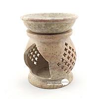 Аромалампа из мыльного камня 11х9х9см (29305)