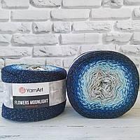 YarnArt  Flowers Moonligth № 3261