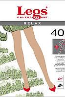 Колготки(5р-р) Relax 40 ден, Tabaco, с моделирующим эффектом, Legs, фото 1