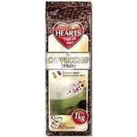Капучино со вкусом молока Hearts Cappuccino White 1кг (Германия)