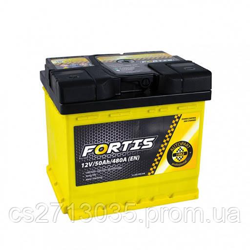Автомобильный аккумулятор FORTIS 50 Ач 480 А (0) R+