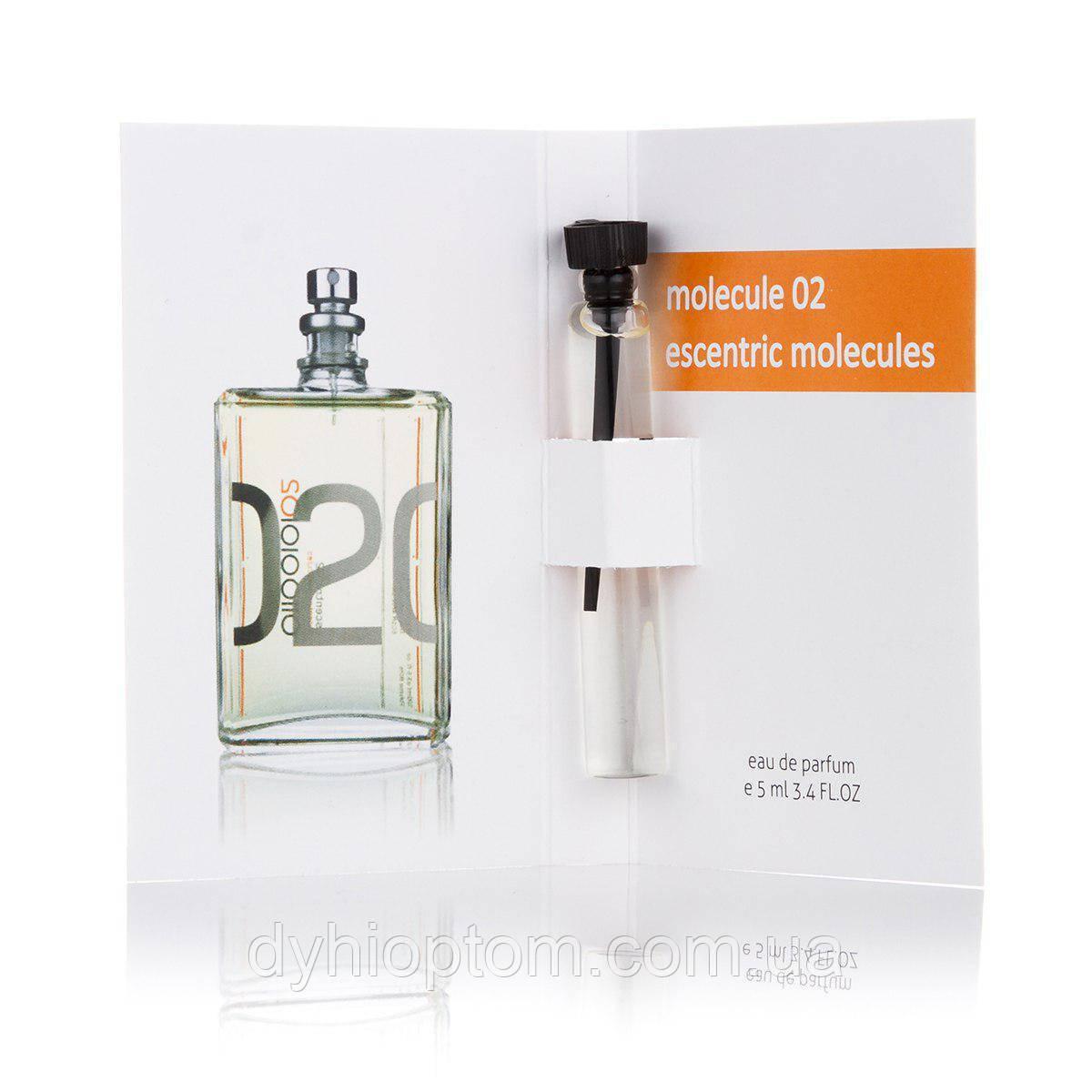 Пробник парфюмированный 5 мл Escentric Molecules Escentric 02 унисекс