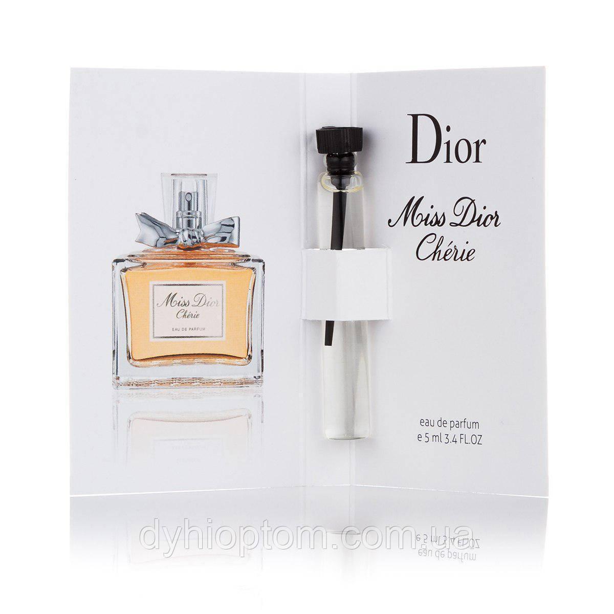 Пробник парфюмированный 5 мл Miss Cherie для женщин