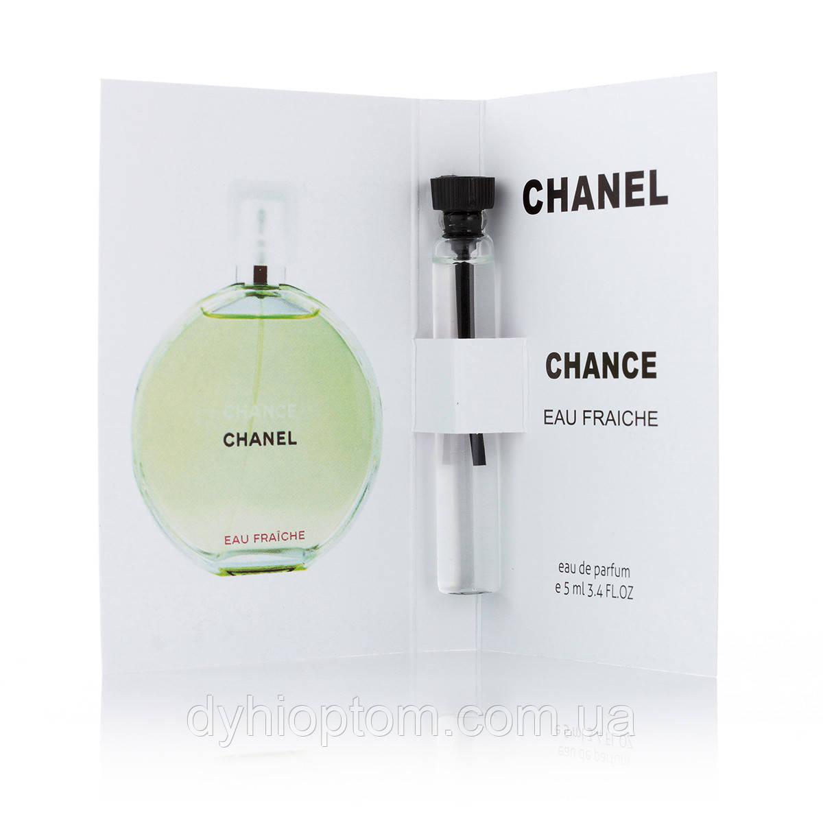 Пробник парфюмированный 5 мл Chance Eau Fraiche для женщин