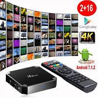 СмартТВ приставка X96 mini  2/16 Gb IPTV Android TV BOX 7.1.2