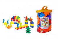 Конструктор Мастер 4 74 дет. 1-026 10 Color Plast - 219126