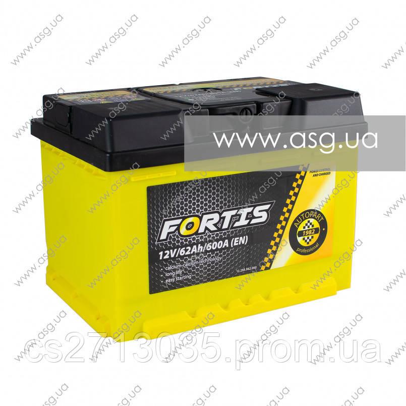 Автомобильный аккумулятор FORTIS 62 Ач 600 А (0) R+
