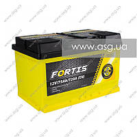 Автомобильный аккумулятор FORTIS 75 Ач 720 А (0) R+