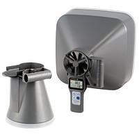 Лопастной анемометр/гигрометр/термометр в наборе с воронками PCE-VA20-SET (Германия)