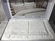 Комплект постільної білизни сатин c гіпюром ТМ Gelin Home Gurlu white
